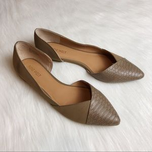 Nine West Pish Posh D' Orsay Pointy Toe Flats